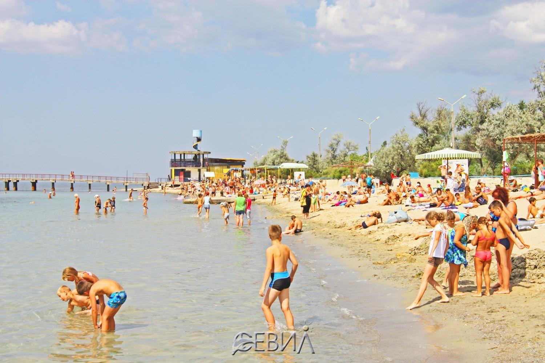Евпатория 2018 пляжи фото